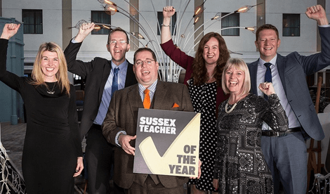 Support Sussex Teacher Year Awards 2019