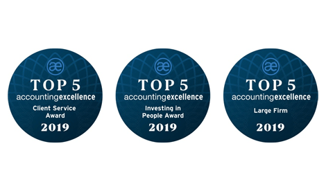 Kreston Reeves named finalised in three Account Excellence Awards 2019