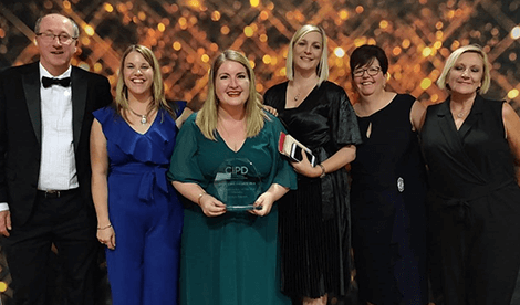 Jessica Damms awarded 'HR Professional of the Year'