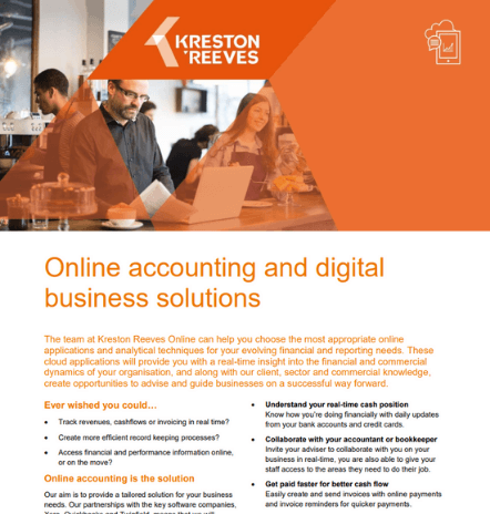 Online accounting and digital business solutions
