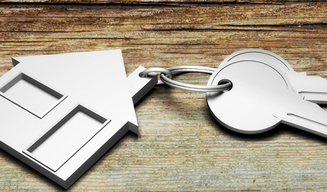 Reform of shared ownership - house key ring on keys