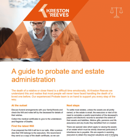 Probate and Estate guide