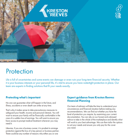Further information – protection