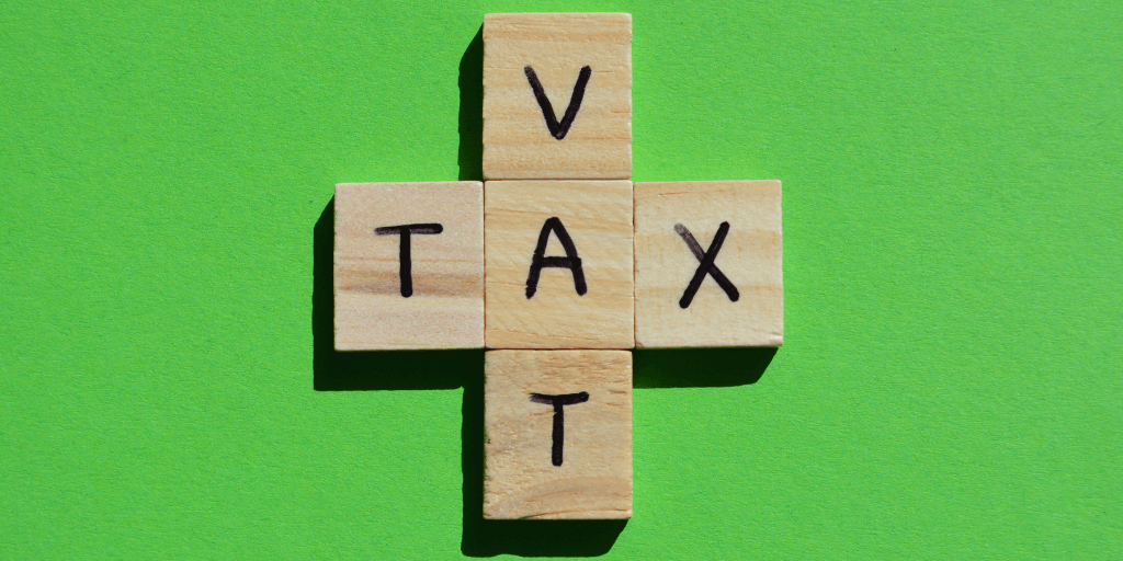 VAT Tax on wooden letters - Indreict taxes post Brexit
