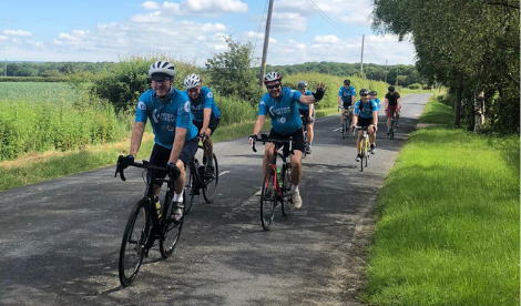 Foundation 50 cycle ride